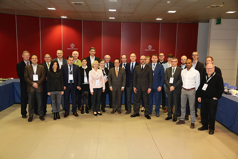 Members group at 2016 AGM in Verona