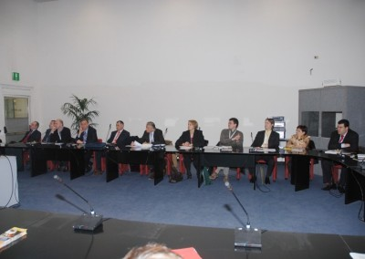 A group of the Eurasco delegates during the General Assembly in Verona