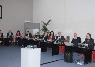 another group of delegates during the general Assembly in Verona