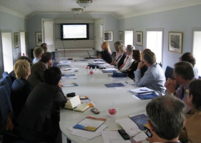 A moment of the AGM in Norkoping (Sweden)on 2nd June 2009