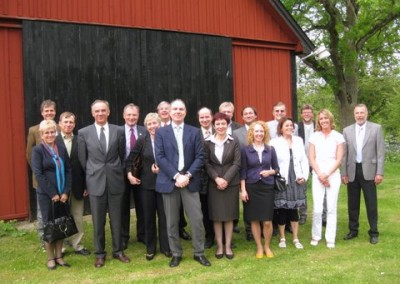 The EURASCO delegates at the AGM in Sweden (2 June 2009)