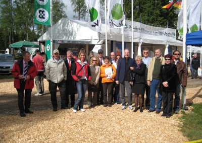 The EURASCO delegates during the official visit at ELMIA WOOD 2009.