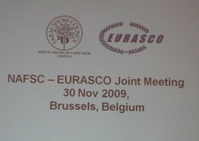 The logo of the first joint meeting EURASCO – NASFC in Brussels on 30th November 2009