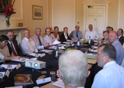A moment of the AGM in Edinburgh on 27th June 2010