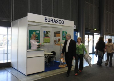 During Techagro in Brno (6/10 April 2008) an EURASCO promotion stand worked for the first time!