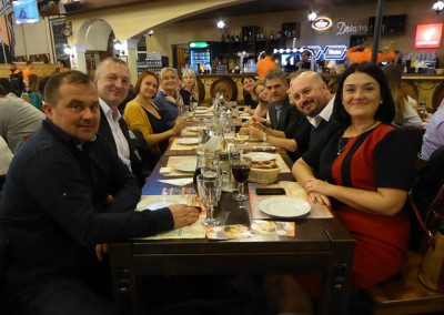 Bucarest social dinner