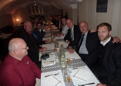 AGM dinner in Clermont-Ferrand