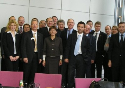 The EURASCO delegates group on 15th November 2007 at the last AGM in Hanover during Agritechnica