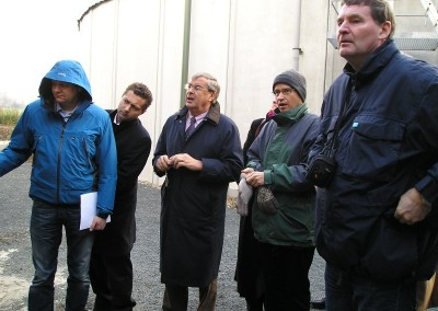 Eurasco members during the organized visit to a biogas plantation following the Agritechnica meeting (November 07).