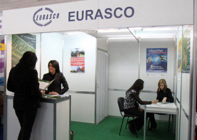 During AGRA 2010 (23/27 February in Plovdiv, Bulgaria) worked an EURASCO stand for the promotion of the activities of the members!